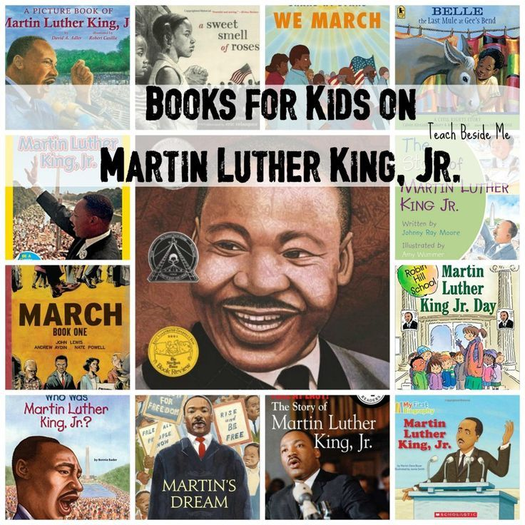 Kids Books on Martin Luther King, Jr.
