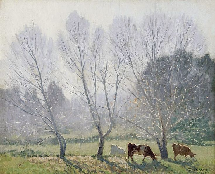 ART and ARCHITECTURE, mainly: An exhibition of Elioth Gruner's landscapes: master of the light