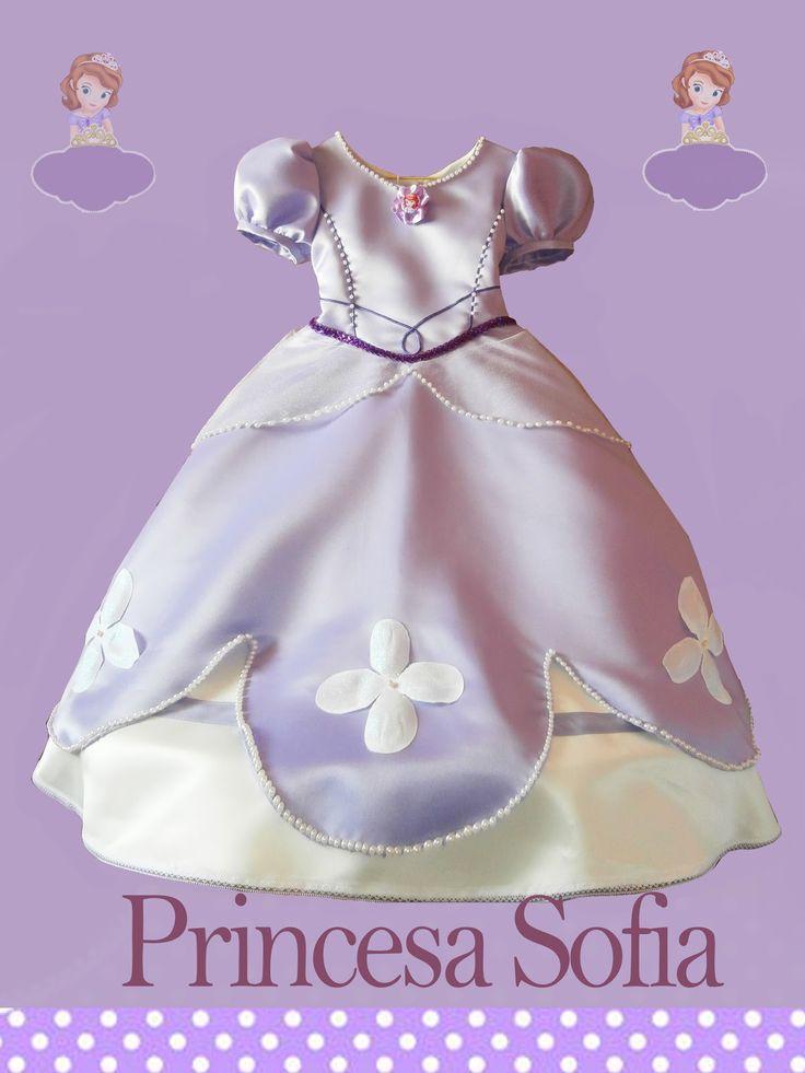 A coser patrones y más: Disfraz Princesa Sofía (Set completo)