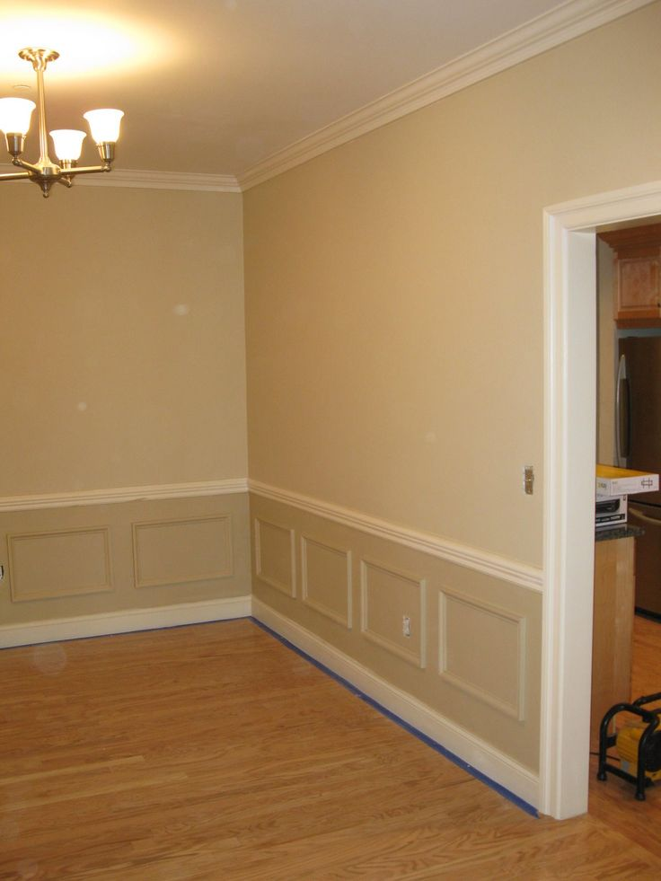 Installing Faux Wainscoting