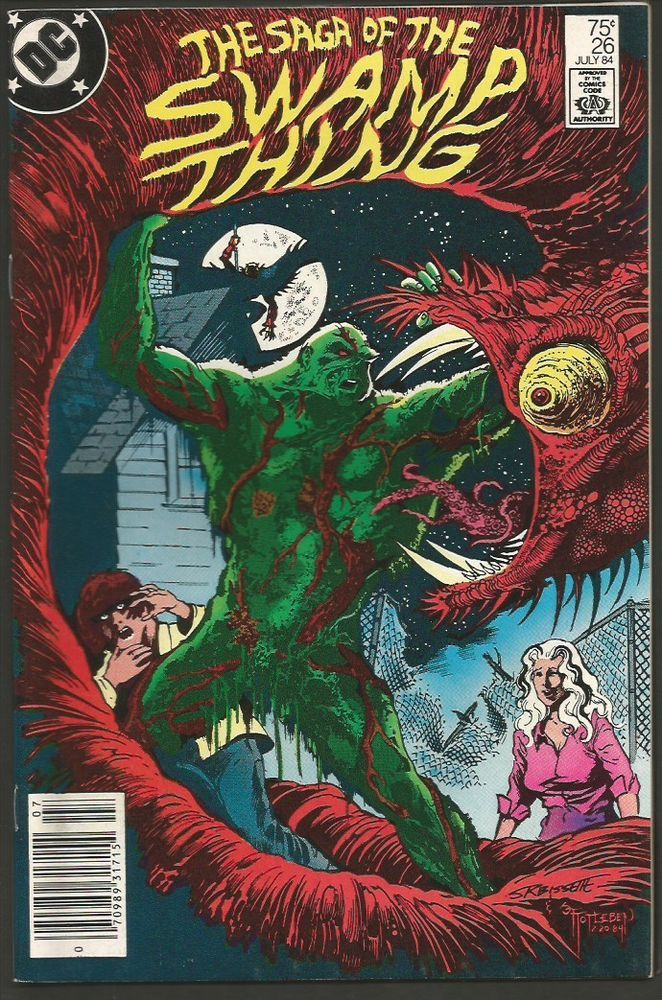 SAGA OF THE SWAMP THING #26 July 1984 DC NM ALAN MOORE 1st full Constantine
