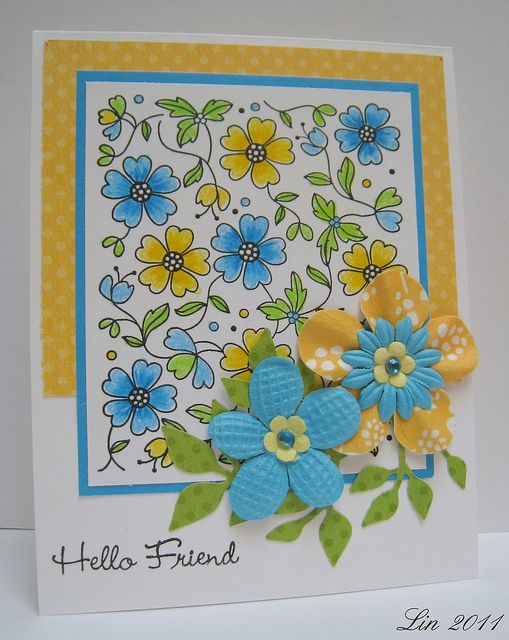 Happy colors.  Blue and yellow