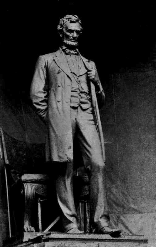 STATUE OF ABRAHAM LINCOLN. BY AUGUSTUS ST. GAUDENS