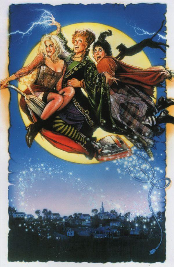Hocus Pocus 1993 Halloween movies, Best halloween movies