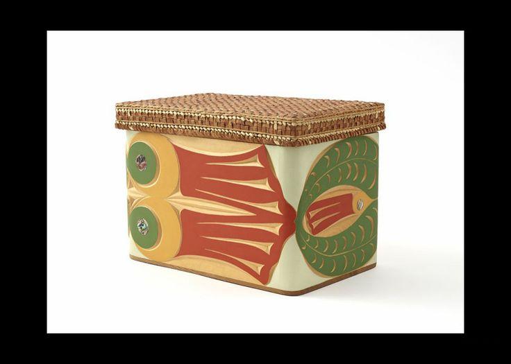 Jane Marston, Honeysuckle Bentwood Box, 2008,