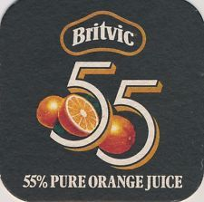 Coaster: Britvic Orange Juice