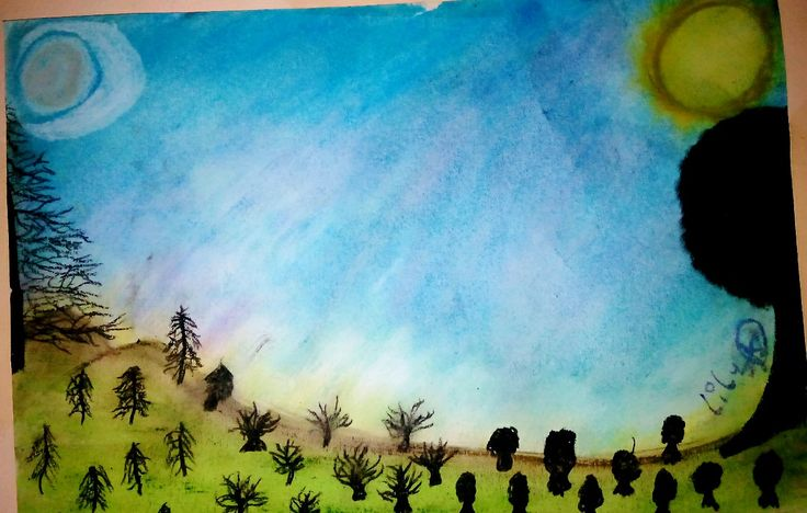 Lapiz pastel ↖(^▽^)↗