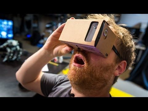 ▶ Hands-On with Google Cardboard Virtual Reality Kit - YouTube