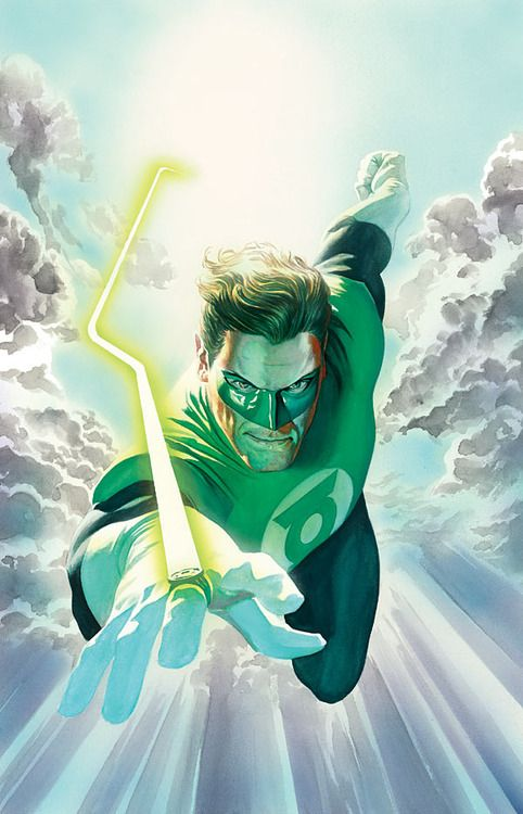 Green Lantern Hal - Alex Ross
