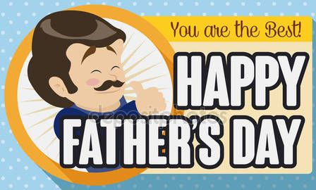 Greeting Card for Father's Day Celebration