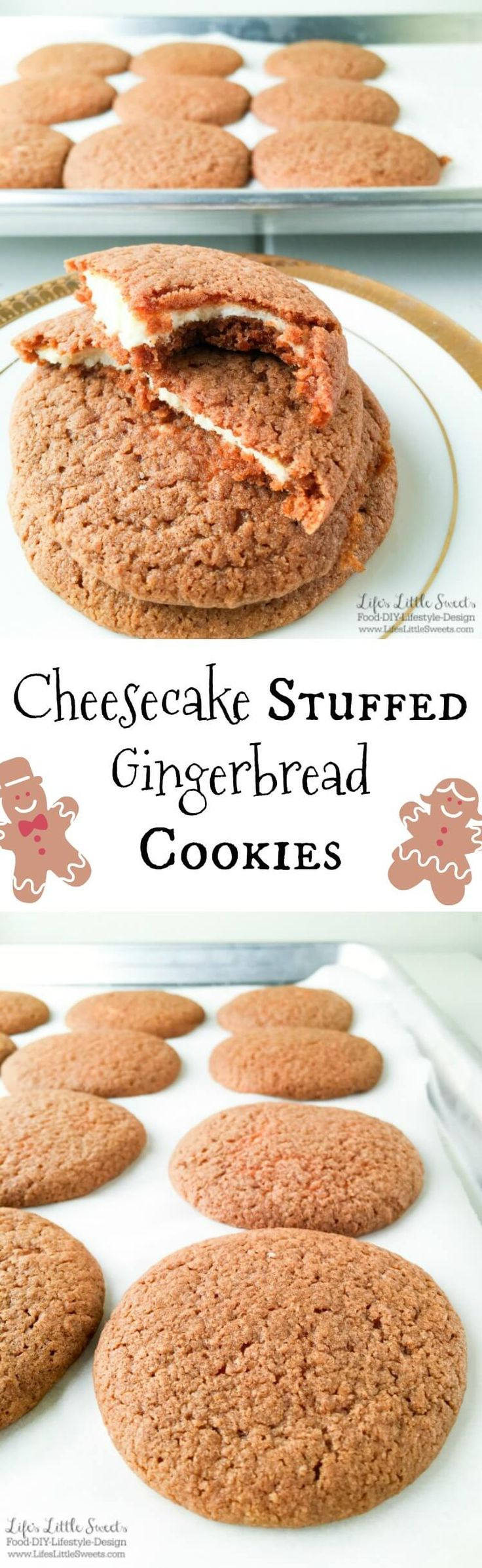 #gingerbread #cookies #cheesecake