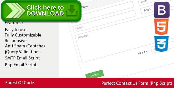 [ThemeForest]Free nulled download Perfect Contact Us Form from http://zippyfile.download/f.php?id=50666 Tags: ecommerce, Bootstrap contact us form, contact, contact form, contact form validation, contact us, contact us form, css form, form validation, html5 form, jquery contact form, responsive contact us form, responsive form, validation