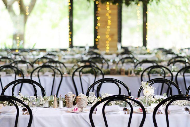 Inglewood Estate Reception Area- Buffet Setup