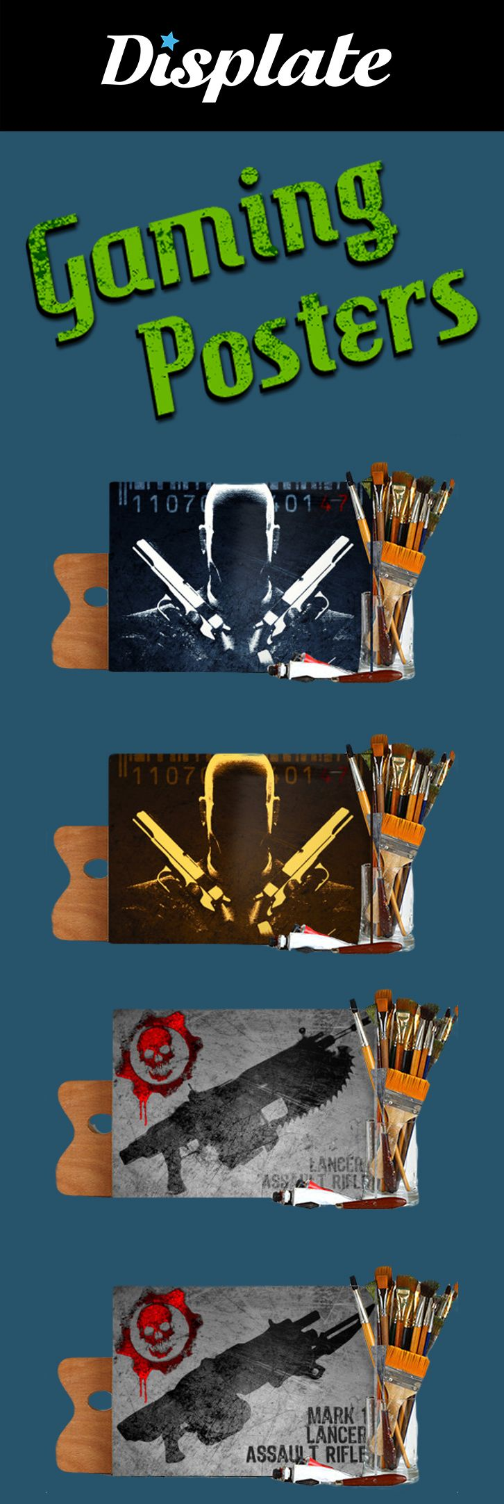 Gaming Posters on Metal Plates. 15% OFF on any order placed this Weekend with code: 15weekend . #gaming #gamer #gifts #discount #sales #save #gamingposters #posters #homedecor #gamersroom #gamer #videogames #giftsforhim
