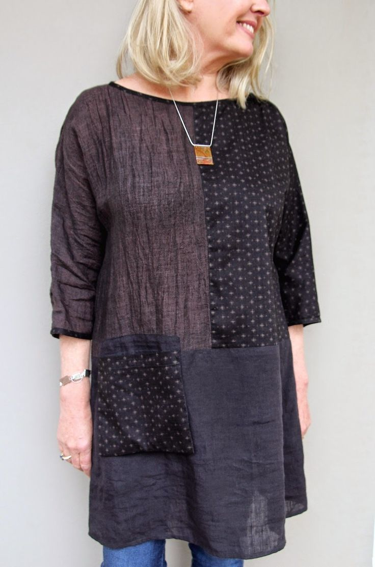 Sew Tessuti Blog - Sewing Tips & Tutorials - New Fabrics, Pattern Reviews: Our NEW Pattern - The Ola Tunic Top!