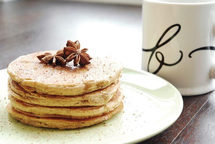 Gingerbread Pancakes | On the Blog: Just a Bit of Salt | Pinterest