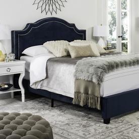 Safavieh Theron Navy Queen Bed Frame Fox6211e-Q