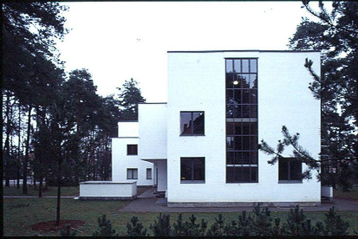 Die Meisterhäuser von Walter Gropius, Dessau