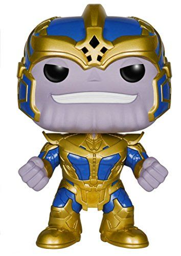 From the Guardians of the Galaxy film comes this Guardians of the Galaxy Thanos 6-Inch Pop! Vinyl Bobble Head Figure! This Guardians of the Galaxy Thanos 6-Inch Pop! Vinyl Bobble Head Figure stands ...