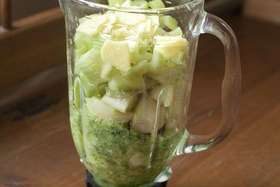 VitaMix Mean Green Juice