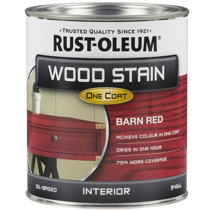 Find Rust-Oleum 946ml Barn Red Wood Stain at Bunnings Warehouse. Visit your local store for the widest range of paint & decorating products.