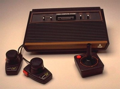 Atari 2600 Video Game Console. My first home video game ...