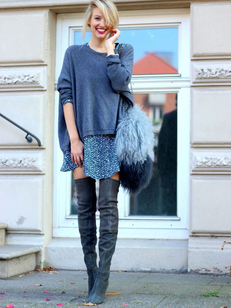 Fashion Fix: Grijze laarzen - My Simply Special