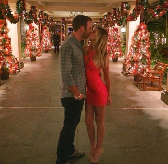Photos: Paulina Gretzky and Dustin Johnson ring in new ...