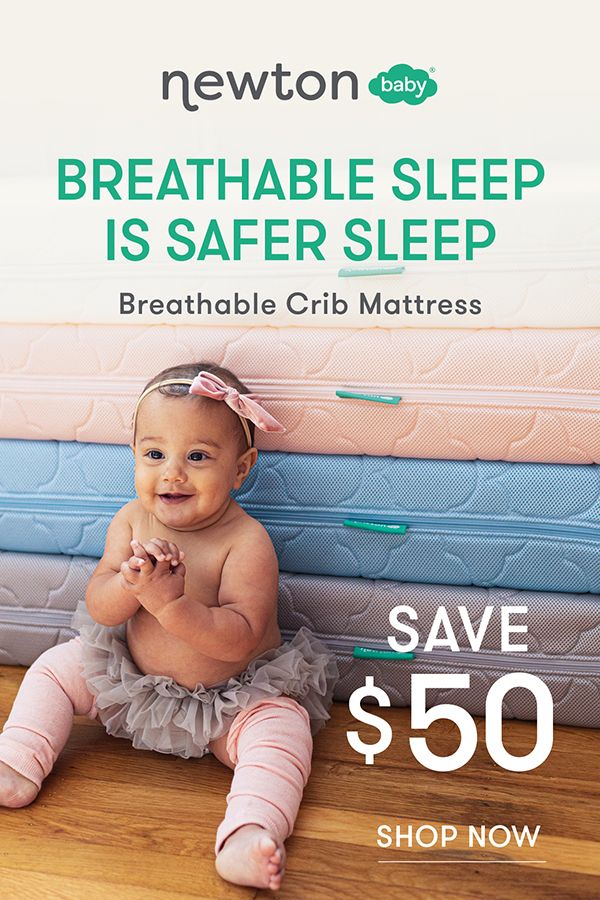 Safer Better Sleep For Your Baby Newton Baby Baby Breathable Crib Mattress
