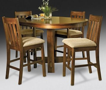 Casual Dining Room Furniture-Rosewood II 5 Pc. Dinette