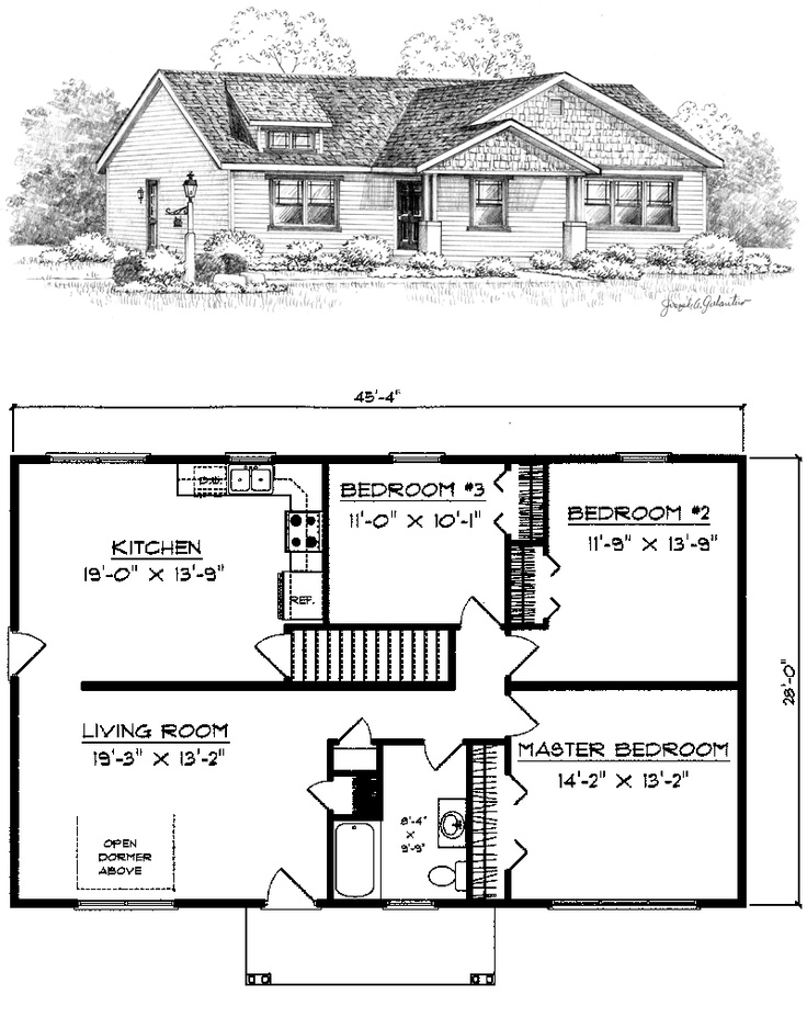 Mission Style Home Plans