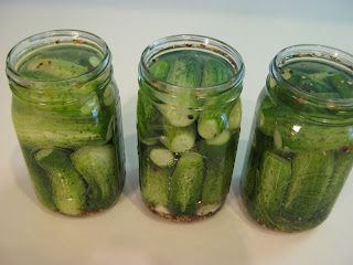 Deli Style Half Sour Pickles  - I've been looking for recipes for the type of pickle you used to find in barrels at delis in Philly.  We called them Jewish or Kosher pickles, but half sour pickles seem to be the same thing.  SInce you don't find barrels of pickles here on the west coast, and the jar types are not what I'm craving, I'm on a mission to make my own.  I didn't grow pickling cucumbers this year, so I'll keep this for next summer, unless I can find some in the store.