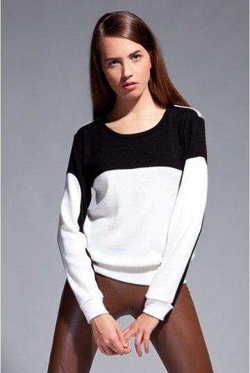 Bluzka Black&White Blu012