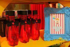 garrafa agua mágico circo