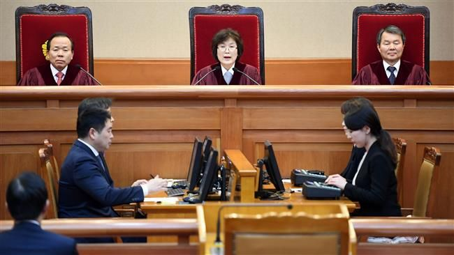 South Korea's top court permanently removes president Park from office
