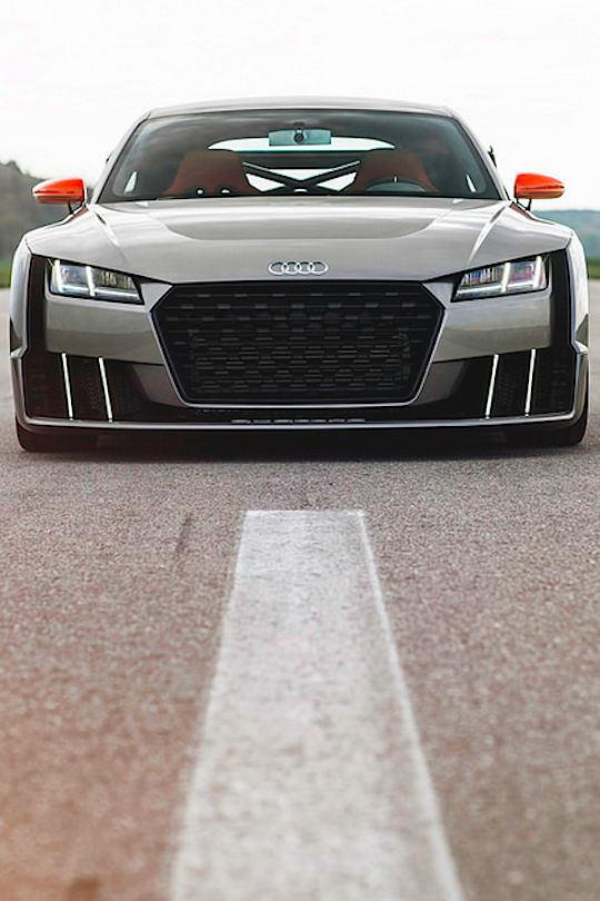 Visit The MACHINE Shop Café... ❤ Best of Audi @ MACHINE... ❤ (Audi TT Clubsport Turbo Concept)