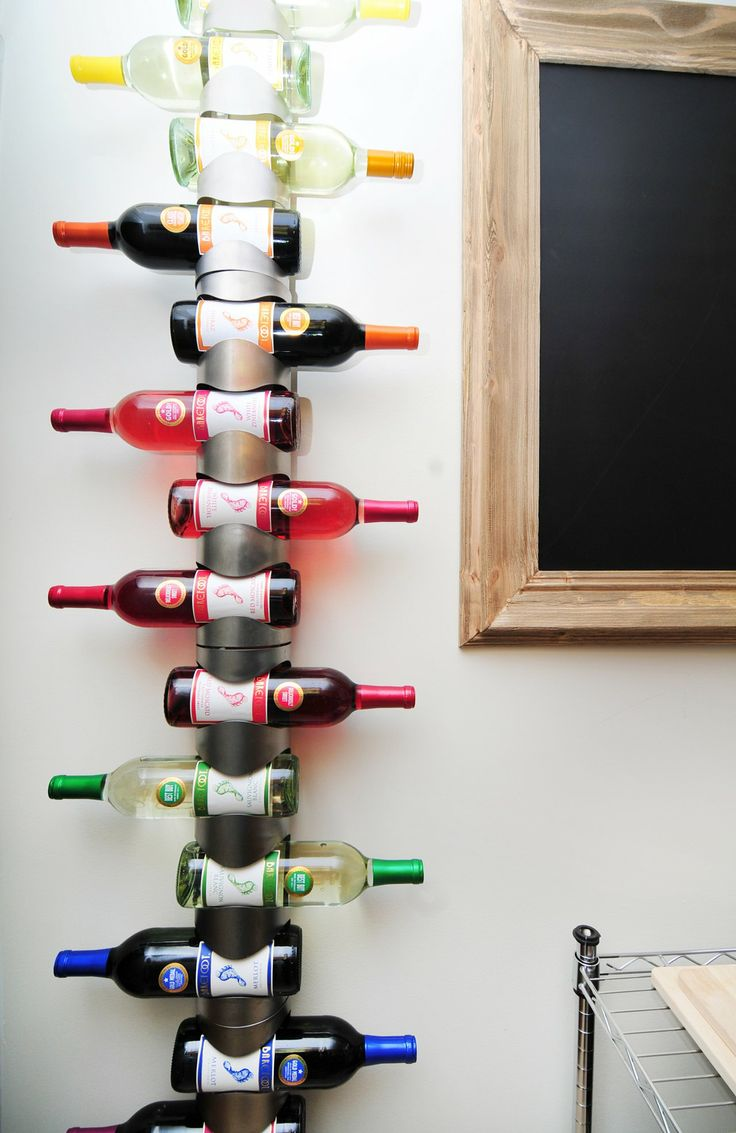 How to arrange a stylish bottle of champagne, brandy or wine 76