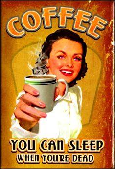 Quem nunca tomou aquele cafezinho para se manter acordado?