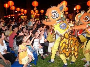 Mid-Autumn Festival - Lion Dance