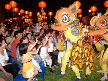 Mid-Autumn Festival - Lion Dance