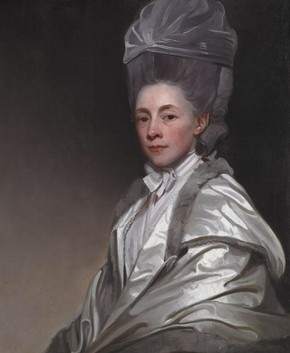 Portrait of Jane Dawkes Robinson by George Romney c. 1778