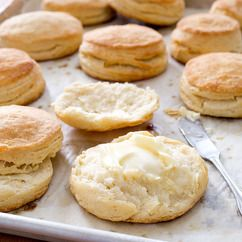 Video: Flaky Buttermilk Biscuits - Cook's Illustrated. Probably the best biscuits ever! Not as pictured. Lottsa work