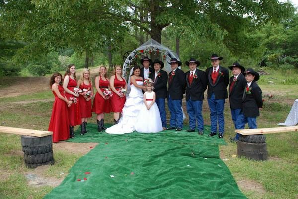 i like this,redneck wedding | ... My Big Redneck Wedding 2: Anna and Bo : The Wedding Party (1 of 15