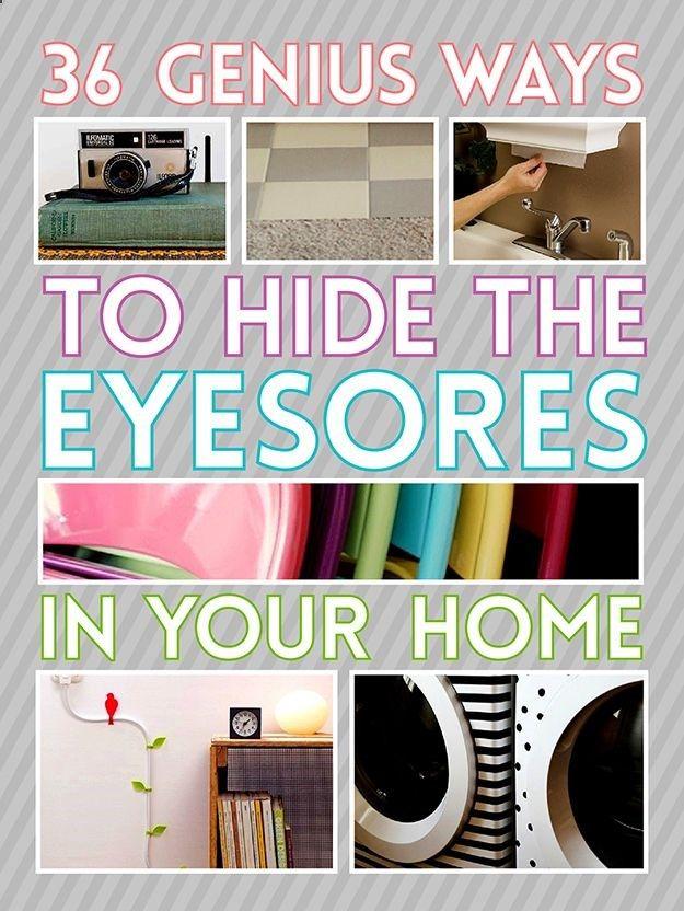 194218421175378463950 36 Genius Ways To Hide The Eyesores In Your Home
