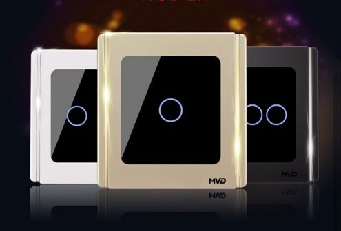UK Standard touch switch 1 gang 1 way wireless touch panel wall switch http://mjhomeshopping.blogspot.com/2015/11/electrical-wall-switches-4.html