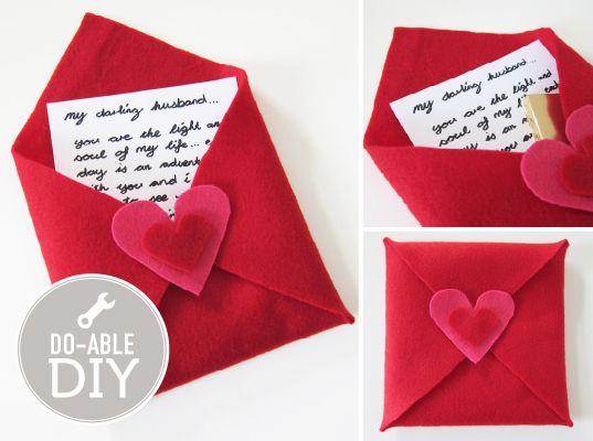 Valentine S Day Envelope Gifts Valentines Valentines Diy Love