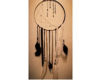 Moon and Stars Dream Catcher van TheCutesyTheory op Etsy
