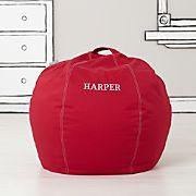 Small Red Bean Bag Chair