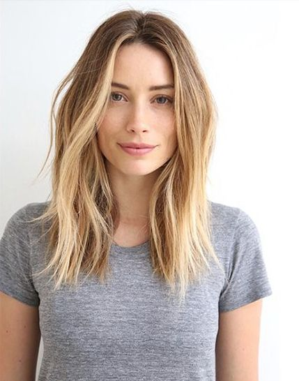Lob Haircut - I've had so many people ask me about cutting my hair that I decided to post about it - How I decided to do it, the photos I showed my hair stylist, some of my favorite before & afters, and how I feel now that it's cut  palms-to-pines.com