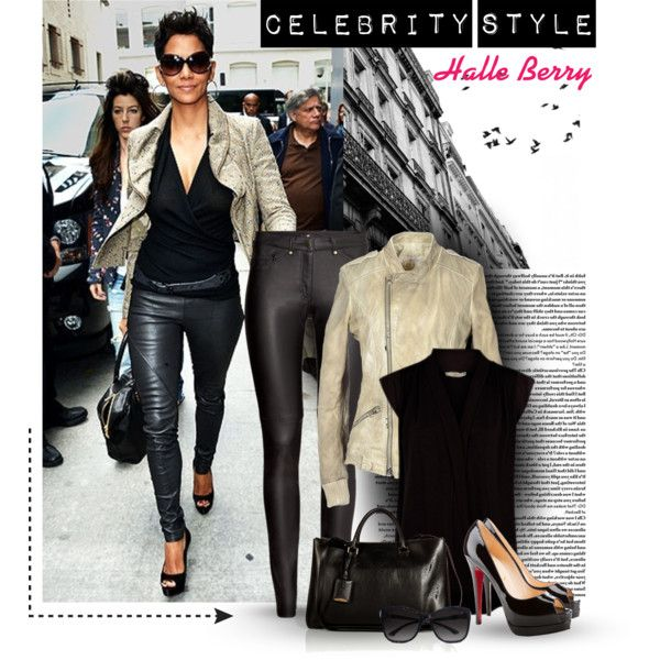 """""""Celebrity Style-Halle Berry"""" by uniqueimage on Polyvore"""
